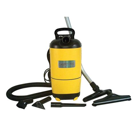 carpet pro commercial backpack vacuum scbp1 the home depot