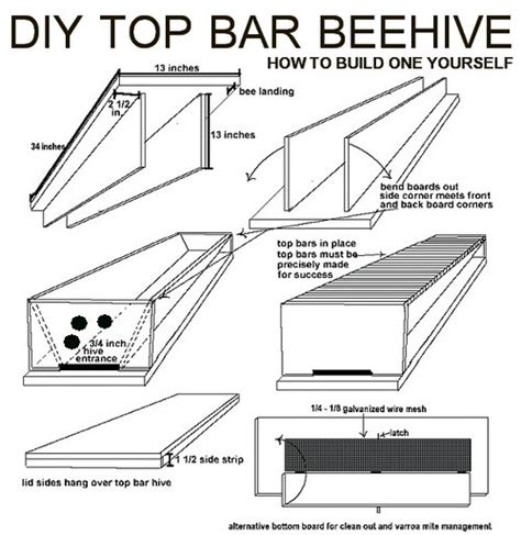 how to build top bar hive how to build your own diy top bar beehive