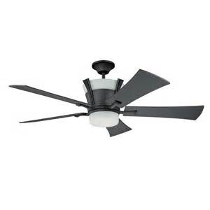 Wrought Iron Ceiling Fan Shop Kendal Lighting 52 In Meridian Wrought Iron Ceiling