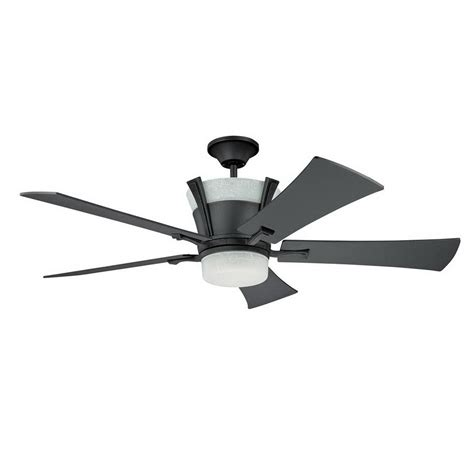 Shop Kendal Lighting 52 In Meridian Wrought Iron Ceiling Wrought Iron Ceiling Fan