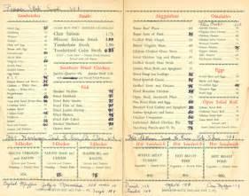 l post diner menu murphy s diner lives on diner hotline weblog