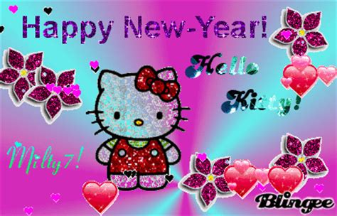 wallpaper hello kitty happy new year hello kitty happy new year picture 131656233 blingee com