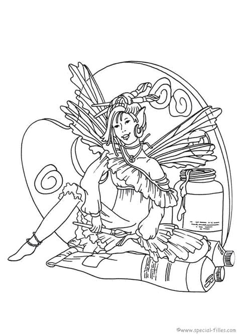 fairies 999 coloring pages coloring pages pinterest