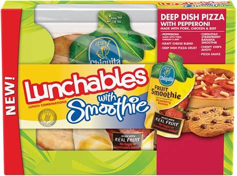 Lunchables Sweepstakes - lunchables with smoothie coupon walmart deal