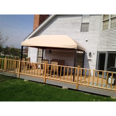 menards awnings triyae com replacement canopy for backyard creations