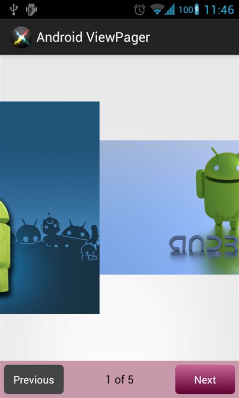 view android android viewpager