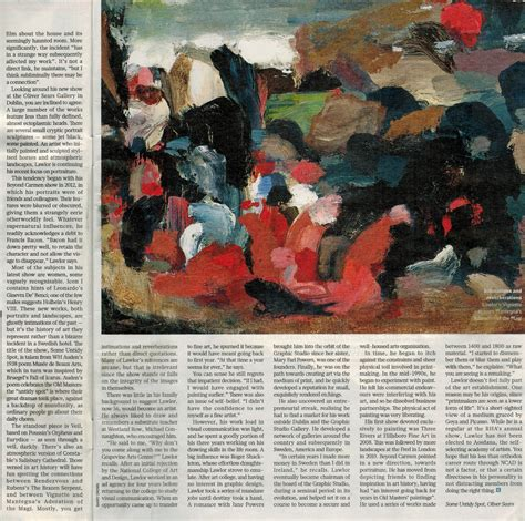sunday times culture section stephen lawlor in the sunday times culture so fine art