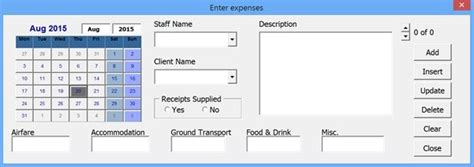 excel userform layout excel forms insert update and delete