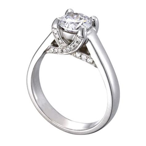 Trellis Engagement Ring trellis engagement rings from mdc diamonds nyc
