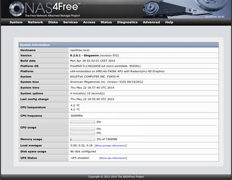 nas4free official site top 8 best free and open source nas software
