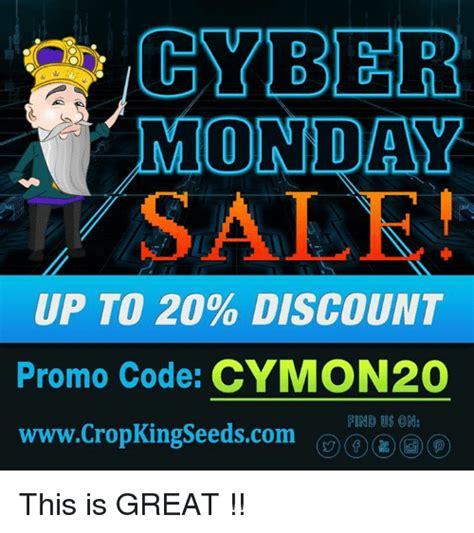 cyber monday    discount promo code cymon