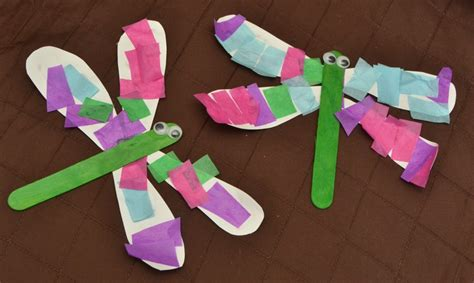 bug crafts for 5 simple insect crafts for plus bonus snack idea