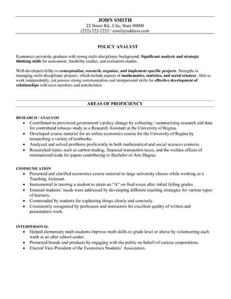 Government Policy Template policy analyst resume template premium resume sles exle