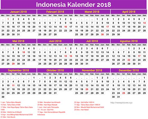printable calendar 2018 indonesia indonesia kalender 2018 17 newspictures xyz