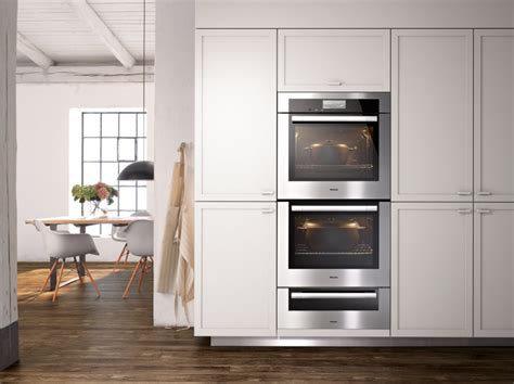 Miele Kitchen Cabinets by Miele M Series Wall Oven Vs Viking French Door Wall Oven