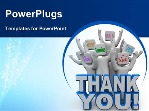 powerpoint templates thank you a of cheering with phrases meaning thank you