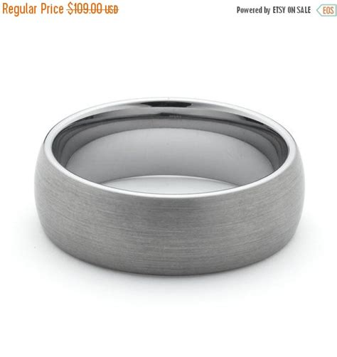 Wedding Bands On Sale by On Sale Tungsten Wedding Bands With Brushed Finish Comfort
