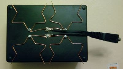 how to make a fractal antenna for hdtv dtv plus more on the cheap 9 steps with pictures
