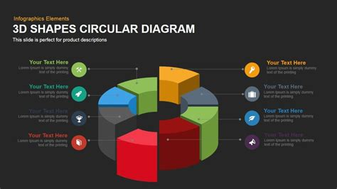 3d themes for powerpoint 2007 free download 3d shapes circular diagram powerpoint keynote template