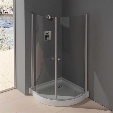 Bathroom Shower Door Ideas Bathroom Cool Corner Bathroom Shower Doors In Black Painted Aluminum Frame Bathroom Shower