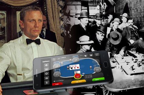 perbandingan perjudian poker dulu  poker  modern