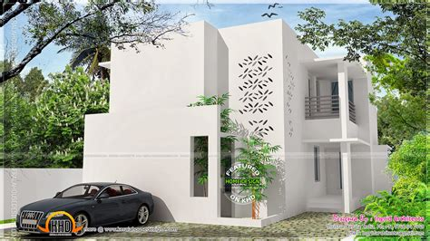 simple contemporary house plans simple contemporary modern house home kerala plans