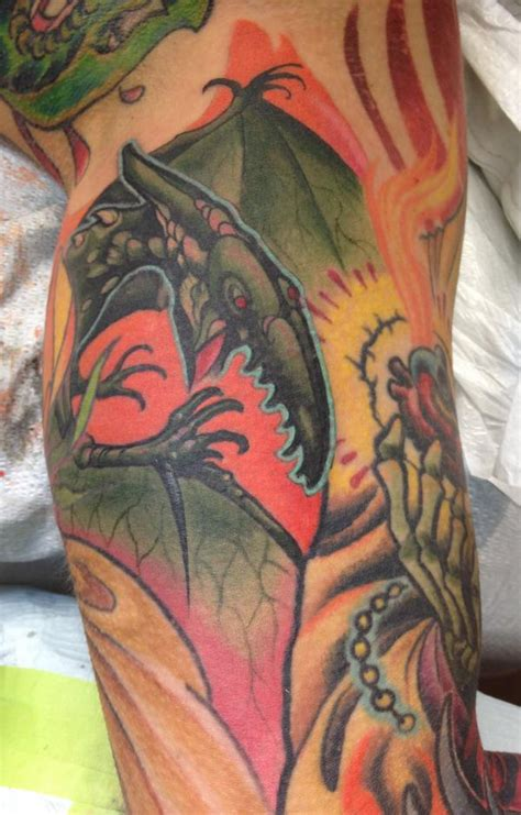 pterodactyl tattoo pterodactyl rites of passage