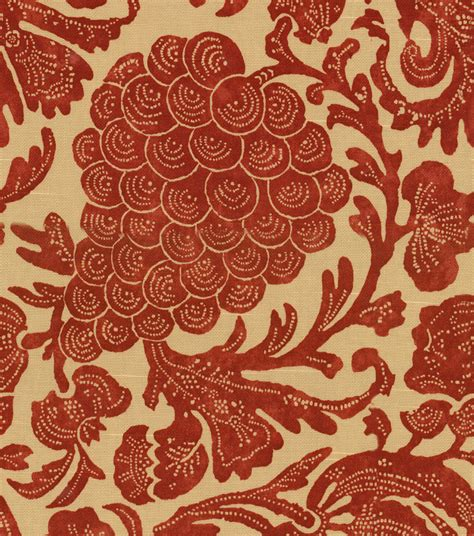 red home decor fabric home decor print fabric pkaufmann batik red at joann com