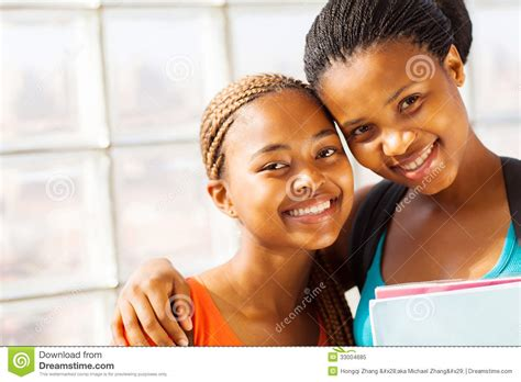 naija college girls pics african college girl friends royalty free stock photo