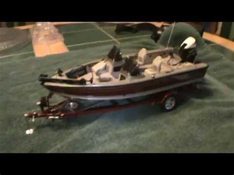 lego bass boat 1 24 scale lund boat youtube