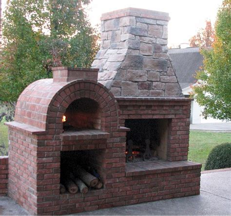 brick oven backyard 1000 ideas about outdoor pizza ovens on pinterest pizza