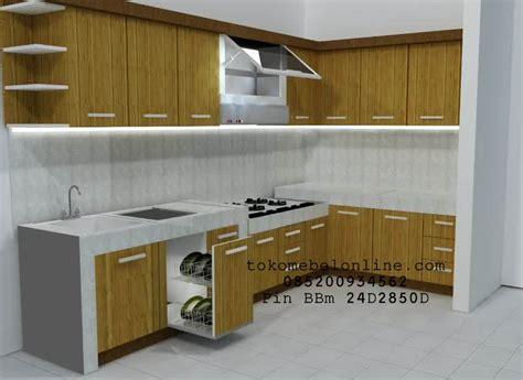 Lemari Jati Pasuruan kitchen set minimalis kayu jati jual harga murah