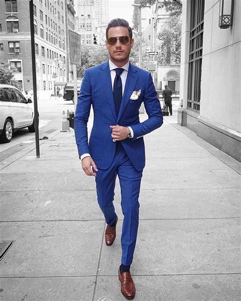 25  best ideas about Blue suit men on Pinterest   Mens
