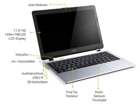 Laptop Acer Acer Aspire E3 111 28lk acer aspire e3 111 c3w0 29 5 cm notebook pink de computer zubeh 246 r