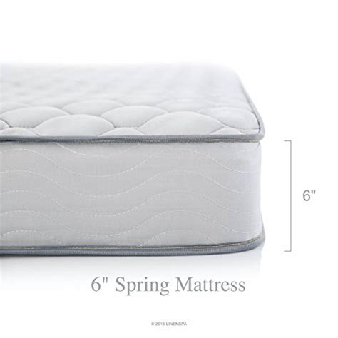 Size Innerspring Mattress by Linenspa 6 Quot King Size Innerspring Pad New Foam