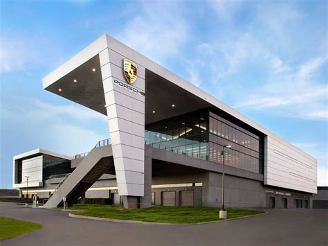 porsche headquarters check out porsche s 100 million us headquarters it