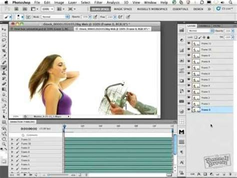 tutorial cinemagraph how to create cinemagraphs in adobe photoshop youtube
