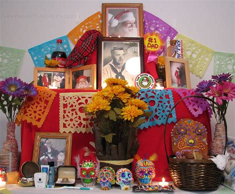 How To Decorate For Dia De Los Muertos by Dia De Los Muertos Altar How To Build An Altar For The