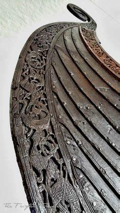 viking longboat excavations gokstad viking ship excavation vintage photos