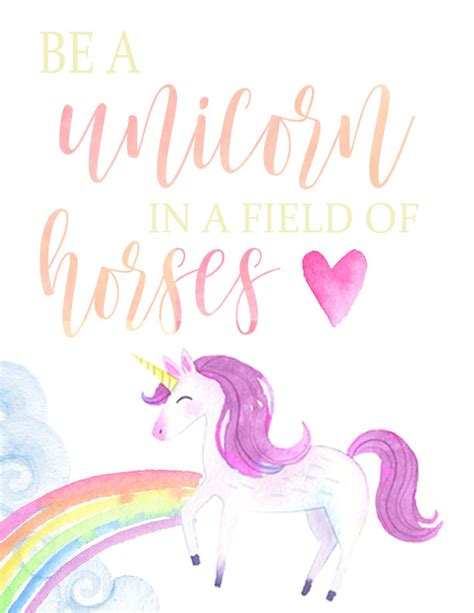 printable unicorn quotes be a flamingo and a unicorn free printables busy