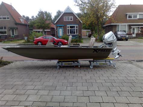 platbodem werkboot xpress volledig gelaste aluminium boten visboten
