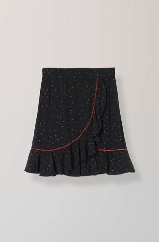 Emory Skirt skirts shop ganni skirts at ganni
