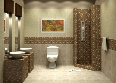 bathroom tile decor mosaic tiles bathroom to surprise your guests