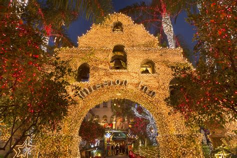 the mission inn hotel spa festival of lights the mission inn hotel kicks off the holiday season with