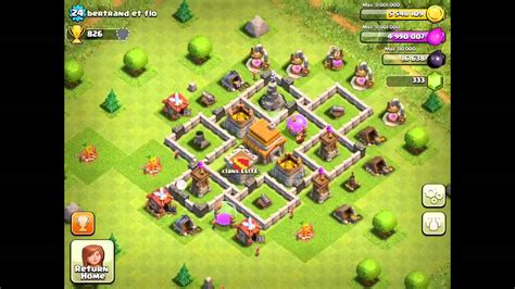 clash of clans layout strategy level 5 town hall level 5 strategy guide clash of clans tips