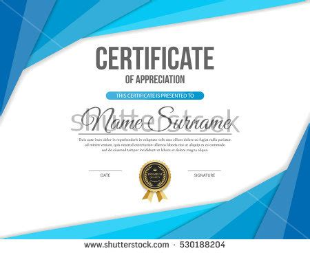 certificate templates vector royalty free vector certificate template 316357940 stock