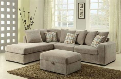 chelsea sectional floor l look alike sectional in taupe w brown legs ottoman sold