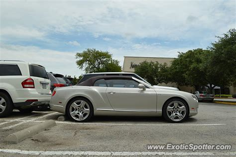 bentley continental spotted in dallas on 06 14 2014