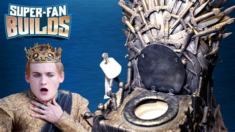 a game of thrones toilet warfare youtube game of thrones iron throne toilet super fan builds
