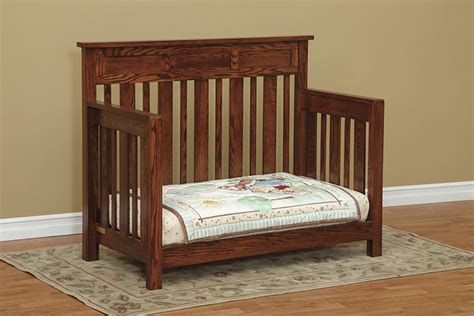 Cribs That Convert To Beds Hudson Convertible Crib Town Country Furniture